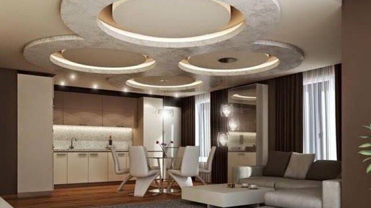 """Modern evlerin sırrı: """"Asma tavan"""""""
