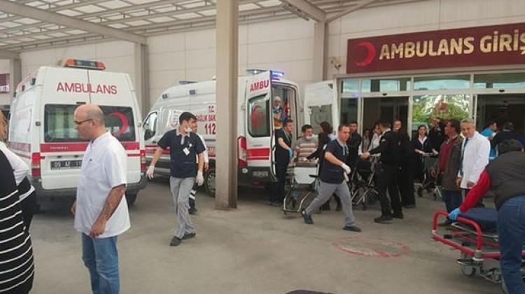 118 öğrenci hastanelik oldu!