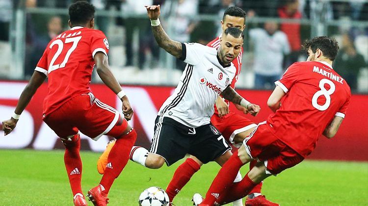 Beşiktaş Avrupa'ya veda etti...