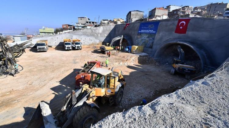İzmir'in en uzun tüneli olacak! İşte detaylar...
