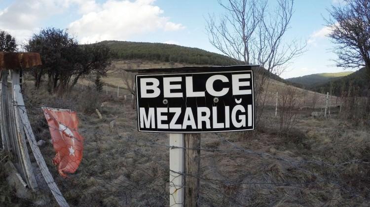 Kaybolan köyü şehit mezarları ortaya çıkarttı