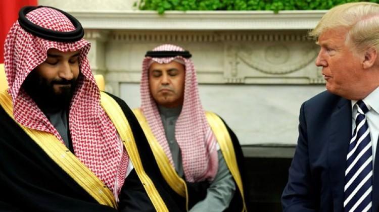 Trump ve Suudi Veliaht Prens, İran'ı hedefe koydu!