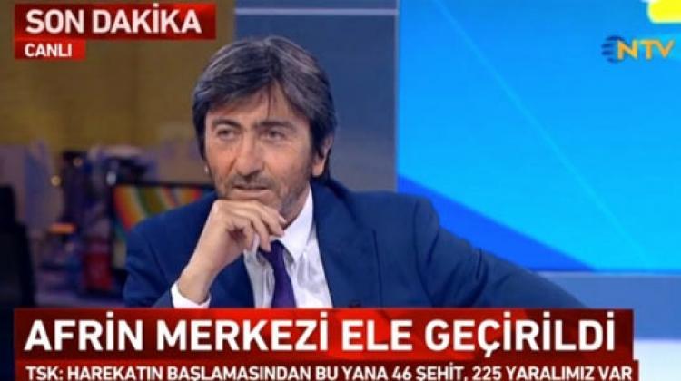 Rıdvan Dilmen Afrin alt yazısıyla mest oldu