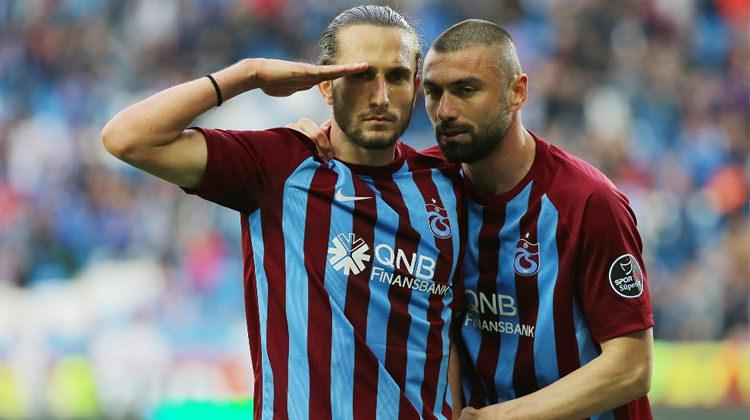 Yusuf ve Burak'tan Trabzonspor'a müjdeli haber