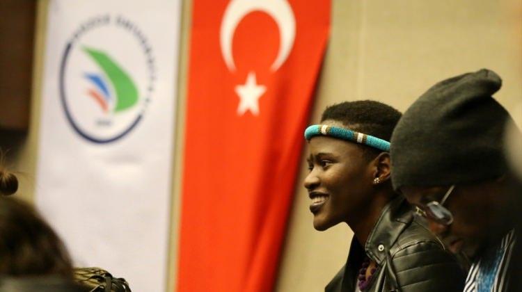 Türkiye'de eğitim gören yabancı öğrenciler Düzce'de buluştu
