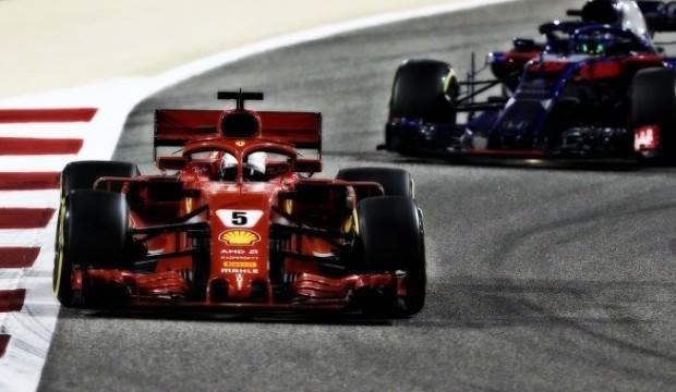 Bahreyn GP'sinde Vettel rüzgarı!