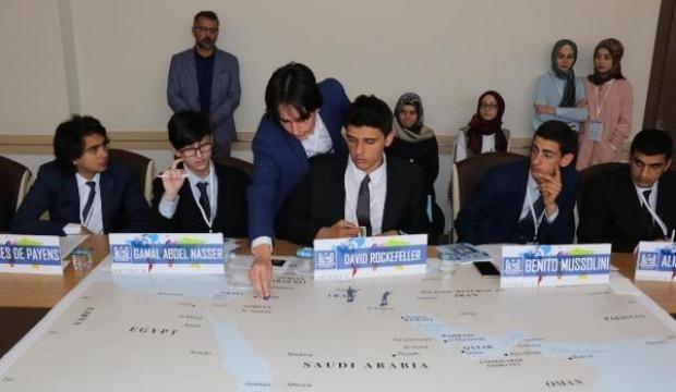 Liseliler, temsili BM konferansında