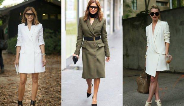 Ceket elbise kombini nasıl yapılır?