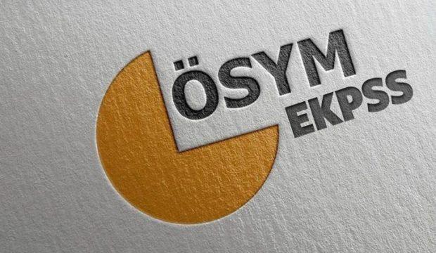 2018 EKPSS sınav yerleri belli mi? ÖSYM EKPSS giriş belgesi...