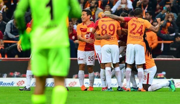 Galatasaray'da müthiş seri