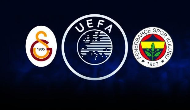 UEFA'dan G.Saray ve F.Bahçe'ye müjde!