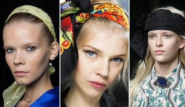 Nostaljik saç bandı modası