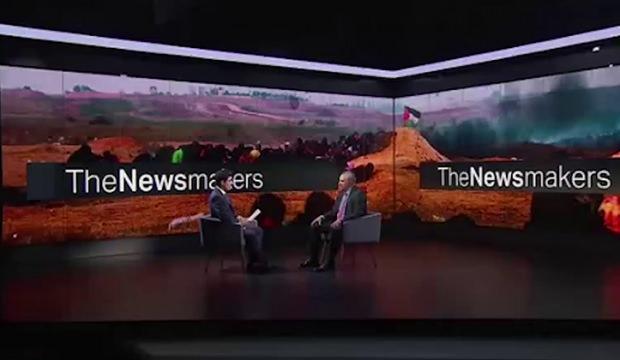 TRT World spikeri İsrail Büyükelçisi'ni rezil etti