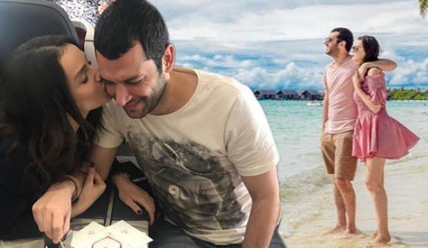 Murat Yıldırım eşi İbane ile Maldivlere uçtu!