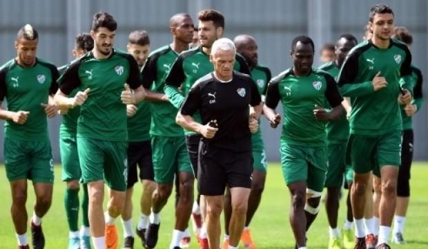 Bursaspor'da hazırlıklar başladı