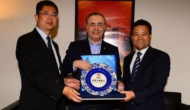 Çinli bankacılardan G.Saray'a ziyaret
