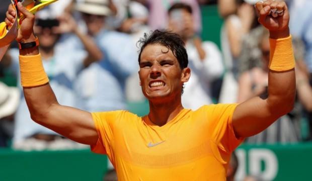 Nadal, Monte Carlo'da yarı finalde