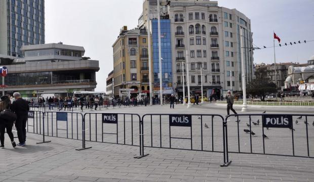 Taksim'de CHP gerginliği! Polis izin vermedi