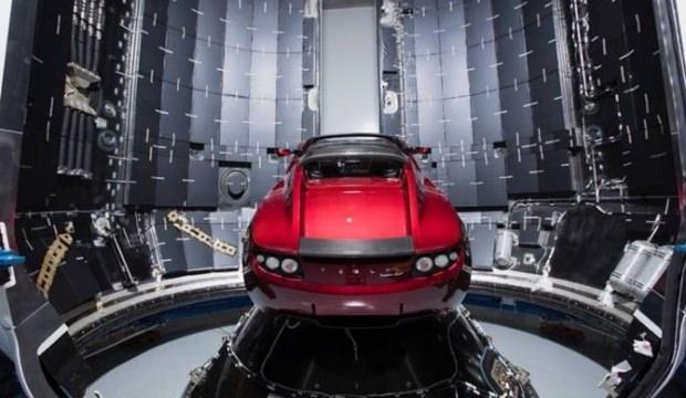 Uzaya giden Tesla'da yerli parça!