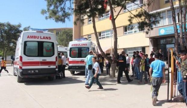 Baklava 12 öğrenciyi hastanelik etti
