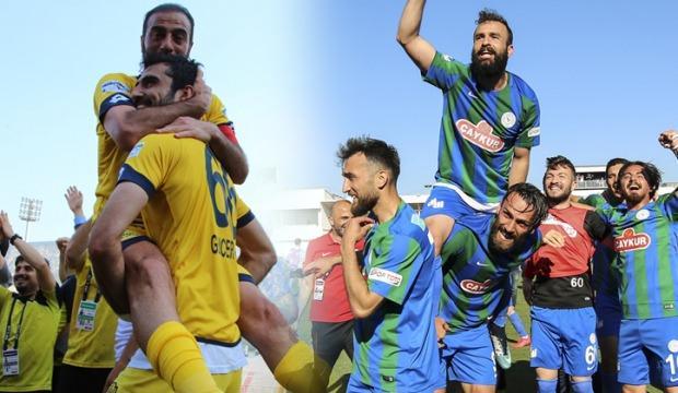 Ankaragücü ve Rizespor Süper Lig'de!