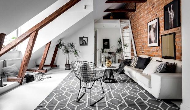 Çatı katı evler için dekorasyon önerileri
