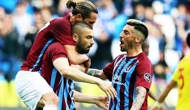Trabzonsporlu futbolculara müjdeli haber