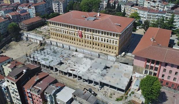 150 yıllık tarihi lise binası restore edildi