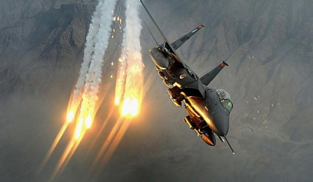 ABD savaş uçakları vurdu! Çok sayıda ölü var