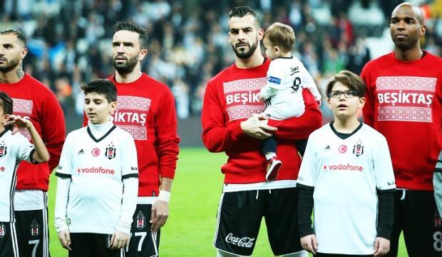 Beşiktaş'ta 6 yıldız kadroya alınmadı!