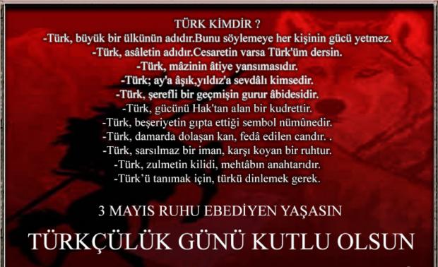 3 Mayıs Resimli Türkçülük Günü mesajları! Türkçülük Gününe özel sözler! -  YAŞAM Haberleri