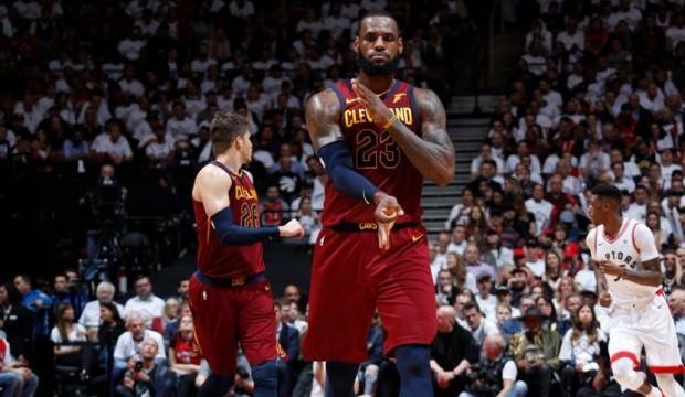 LeBron coştu, Cleveland yine kazandı!