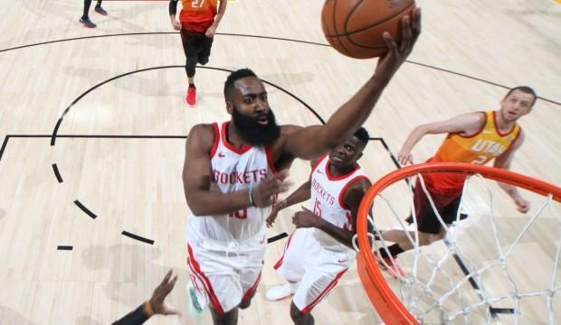 Sakallı coştu, Rockets yeniden öne geçti