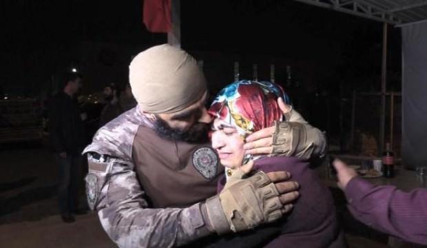 Afrin'den dönen PÖH'ler gözyaşlarıyla karşılandı
