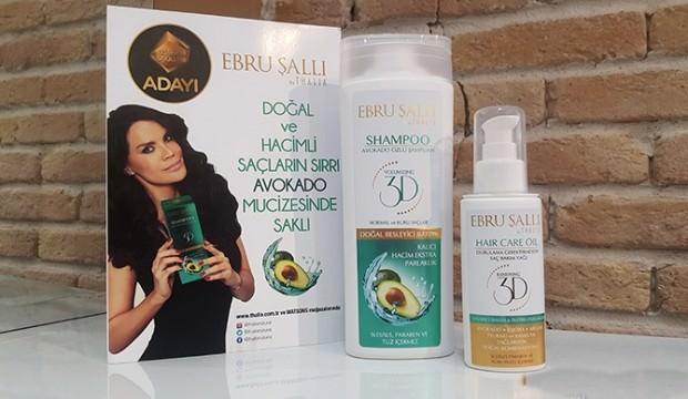 Ebru Şallı 3D Avokado özlü şampuan incelemesi