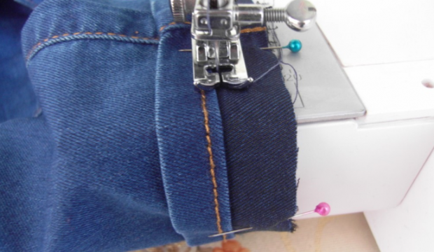 Pantolon paçası nasıl kısaltılır Orijinal kot pantolon paçası nasıl yapılır