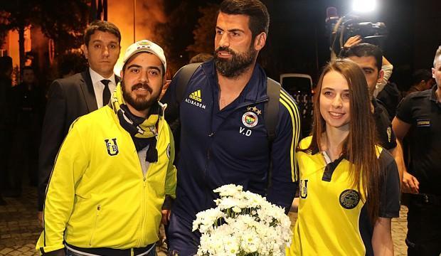 Fenerbahçe coşkuyla karşıladı