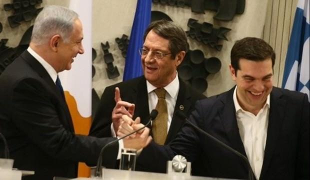 Rum - Yunan ve İsrail Türkiye'ye karşı birleşti