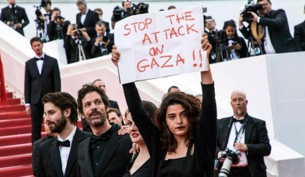 Lübnanlı oyuncudan Fransa'da 'Filistin' mesajı!