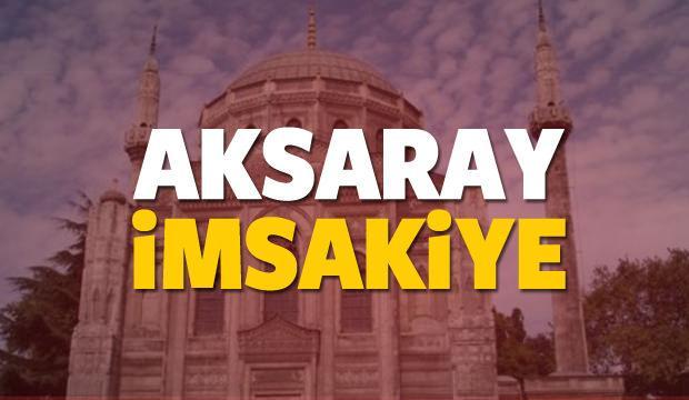 2018 Aksaray imsakiye sahur ve iftar vakti! Sabah ve Akşam ezanı saati...