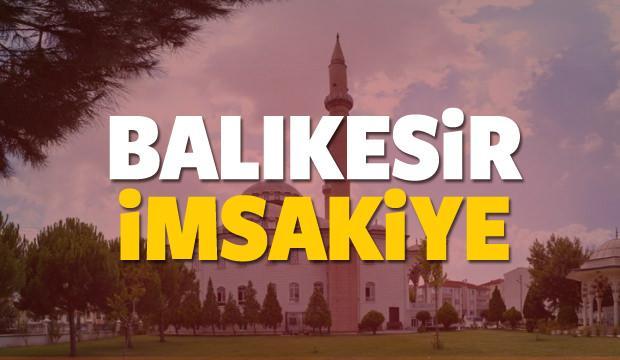 2018 Balıkesir imsakiye sahur ve iftar vakti! Sabah ve Akşam ezanı saati...