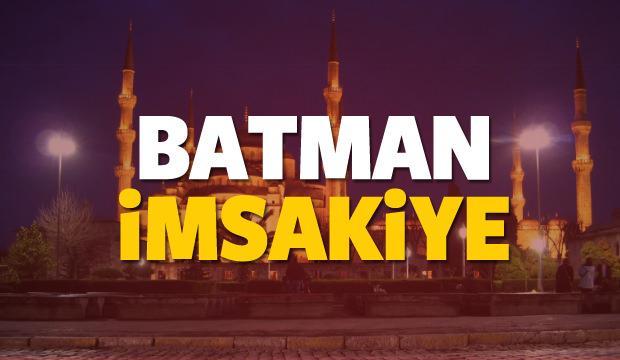 2018 Batman imsakiye sahur ve iftar vakti! Sabah ve Akşam ezanı saati...