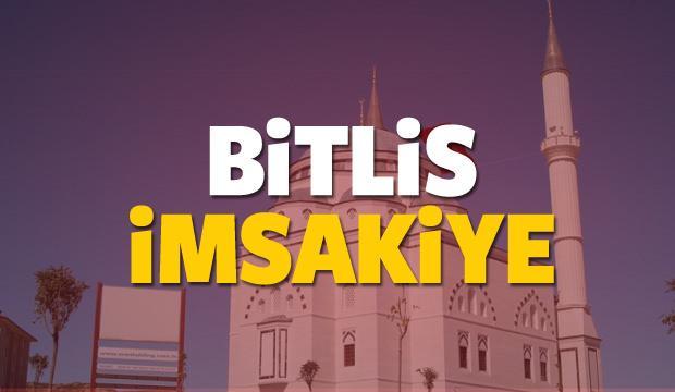 Bitlis imsakiye sahur ve iftar vakti! Sabah ve Akşam ezanı saati... 2018
