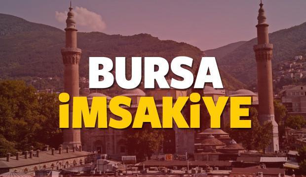 2018 Bursa imsakiye sahur ve iftar vakti! Sabah ve Akşam ezanı saati...