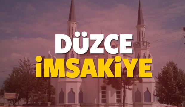 2018 Düzce imsakiye sahur ve iftar vakti! Sabah ve Akşam ezanı saati...