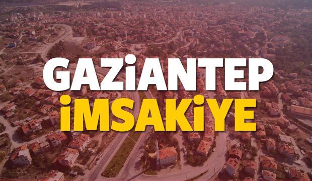 2018 Gaziantep imsakiye sahur ve iftar vakti! Sabah ve Akşam ezanı saati...
