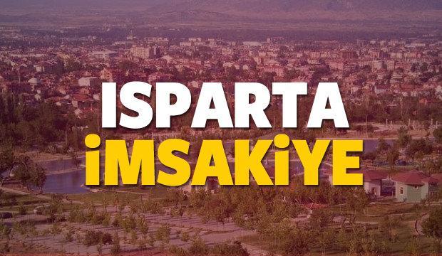2018 Isparta imsakiye sahur ve iftar vakti! Sabah ve Akşam ezanı saati...