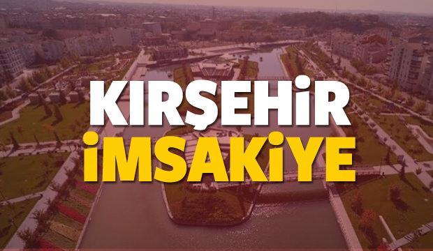 2018 Kırşehir imsakiye sahur ve iftar vakti! Sabah ve Akşam ezanı saati...
