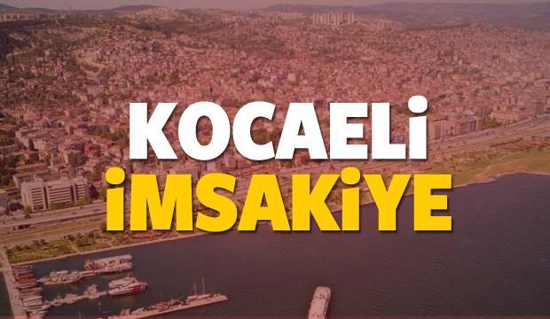 2018 Kocaeli imsakiye sahur ve iftar vakti! Sabah ve Akşam ezanı saati...
