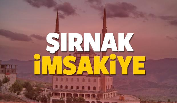 2018 Şırnak imsakiye sahur ve iftar vakti! Sabah ve Akşam ezanı saati...